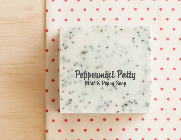 PEPPERMINT PATTY - Mint & Poppy Soap
